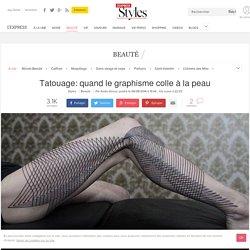 Tatouage: quand le graphisme colle à la peau - L'Express Styles