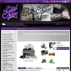 Kit De Tatouage Tatouage Guns, Professional Tattoo Kit 6 Rotatif