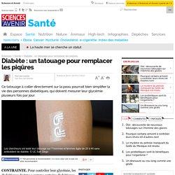 Diabète : un tatouage pour remplacer les piqûres