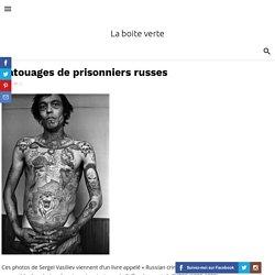 Tatouages de prisonniers russes