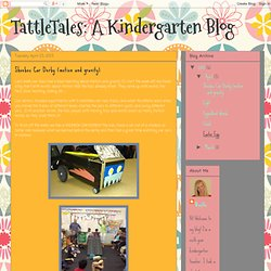 A Kindergarten Blog: Shoebox Car Derby (motion and gravity)
