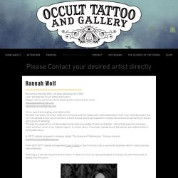 Top Tattoo Artists in the Bay Area