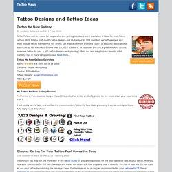 Tattoo Designs and Tattoo Ideas - Tattoo Magic