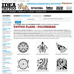Tattoo Flash – Polynesian