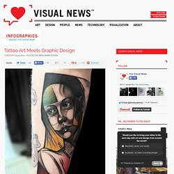 Tattoo Art Meets Graphic Design