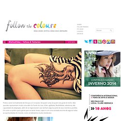 #tattoofriday – Tattoos & Tentacles | Follow the Colours