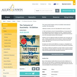 The Tattooist of Auschwitz - YA Edition - Heather Morris - 9781760686031