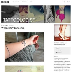 Tattoologist | Rodeo Magazine