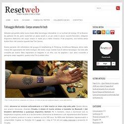 Tatuaggio Motorola - Corpo umano hi-tech - Resetweb