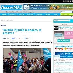Taubira injuriée à Angers, la preuve !
