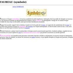 TAUREAU (symbole)
