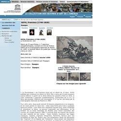 GOYA, Francisco (1746-1828) :LA TAUROMACHIE, 1816 :LA COLLECTION DES ŒUVRES D'ART DE L'UNESCO
