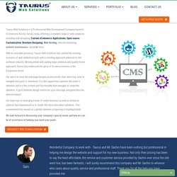 Web Design Company India- Taurus Web Solutions