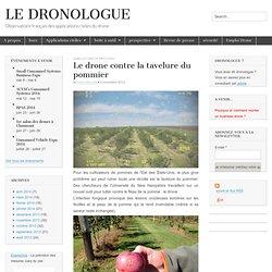 DRONOLOGUE 04/11/13 Le drone contre la tavelure du pommier