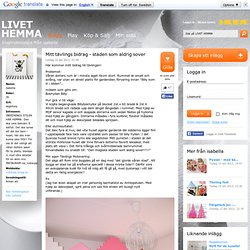 Mitt tävlings bidrag - staden som aldrig sover | isabella | LIVET HEMMA | IKEA