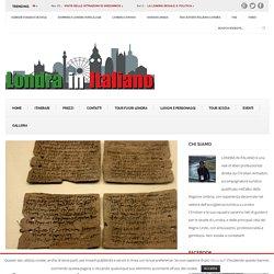 Le tavolette di Vindolanda e la vita delle legioni romane nelle province del nord