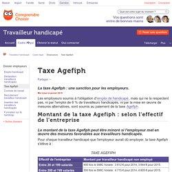 Taxe Agefiph : calcul et montant de la taxe Agefiph