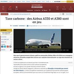 Sociétés : Taxe CO2: 20% de la production d'Airbus en jeu