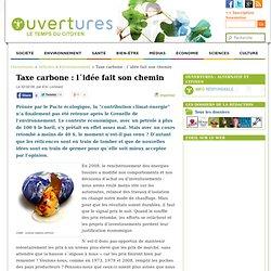 2009/02/02 - Taxe carbone : l'idée fait son chemin