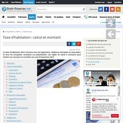 Taxe d'habitation : calcul et montant