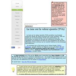 3/ Définition Taxe sur la Valeur Ajoutée