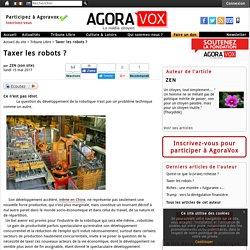 Taxer les robots