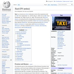 Taxi (TV series) - Wikipedia