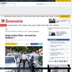 Taxis contre Uber: où sont les chiffres?