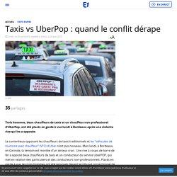 Taxis vs UberPop : quand le conflit dérape