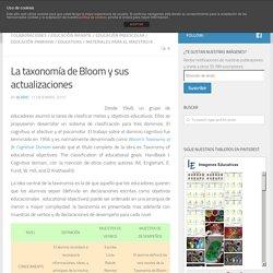 La taxonomía de Bloom y sus actualizaciones