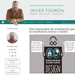 Una taxonomía de evaluación para la enseñanza online y mixta