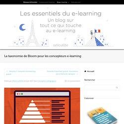 La taxonomie de Bloom pour les concepteurs e-learning