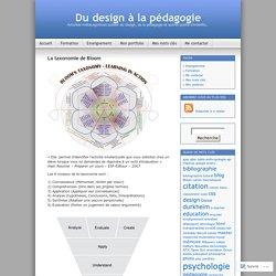 Du design à la pédagogie