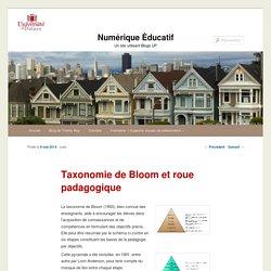 Taxonomie de Bloom et roue padagogique