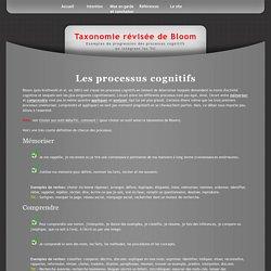 TaxonomieDeBloom:Processus