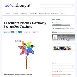 14 Bloom's Taxonomy Posters For Teachers