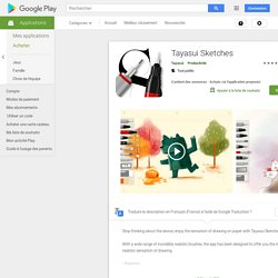 ‎Tayasui Sketches dans Google Play
