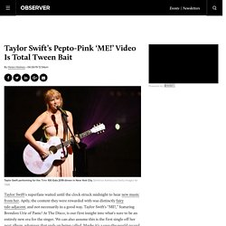Taylor Swift Gets Older, but Tweens Stay the Same Age