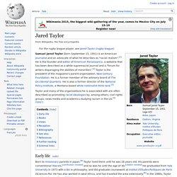 Jared Taylor