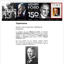 Taylorisme - Tout savoir sur le Taylorisme