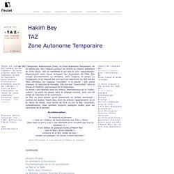 TAZ - Hakim Bey - Vimperator