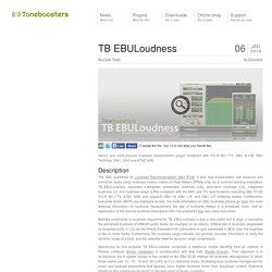 TB EBULoudness
