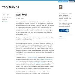 TBI's Daily Bit
