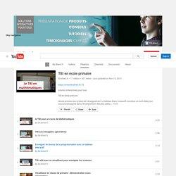 TBI en école primaire - YouTube