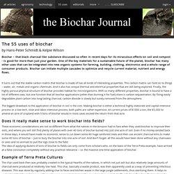 tBJ:The 55 uses of biochar