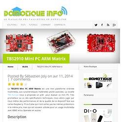 TBS2910 Mini PC ARM Matrix
