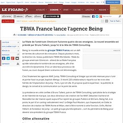 TBWA France lance l'agence Being