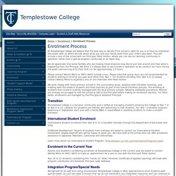 TC - Enrolment Process