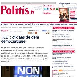 TCE : dix ans de déni démocratique