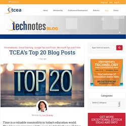 TCEA's Top 20 Blog Posts